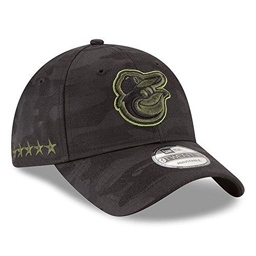 棒球帽NEW ERA OFFICIAL MLB 2018鸭舌帽 Memorial Day 9TWENTY Adjustable Dad Hat帽子