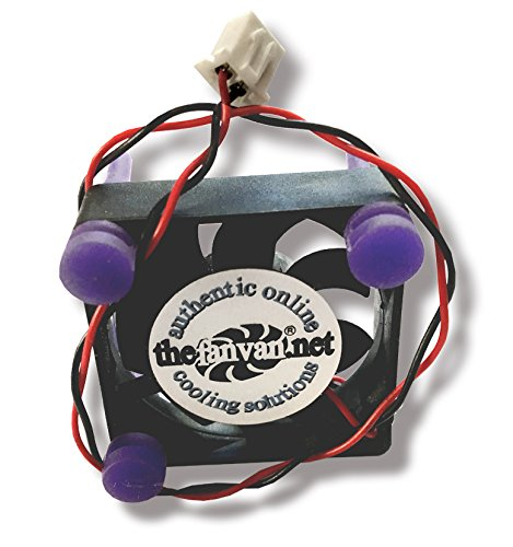 (Fan Van Tivo Roamio & Roamio OTA Replacement Fan Kit with Noise Reducing Silicon Mounts)