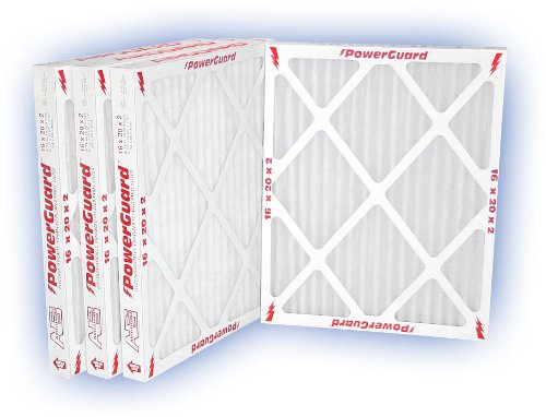 16x20x2 (15-1/2x19-1/2) PowerGuard Pleated Panel Filter MERV 11 4-Pack