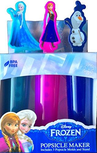 Disney Frozen Popsicle Inlcudes Summer