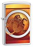 Zippo Lighter: Year of the Monkey - Brushed Chrome 78261