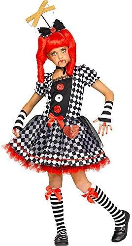 Fun World - Marionette Doll Girl`s Costume