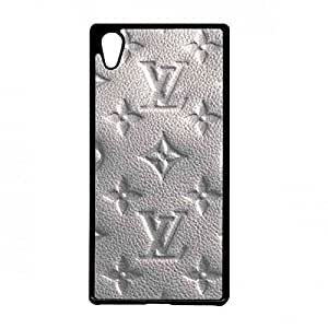 Louis and Vuitton Phone Custodia Cover, Louis and Vuitton Sony Xperia Z3 Plus, Louis and Vuitton Hard Plastic Black Cover
