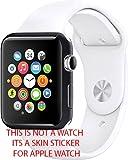 Gadgets Wrap LJ-6F9Y-PGJ0 42Mm Matte Sticker Skin For Apple Watch (Black)
