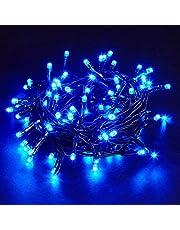 Pisca Pisca 100 Leds Funções 9 metros Branco Frio Branco Quente Decoração de Natal Cordão de Luz Led - Bella Net