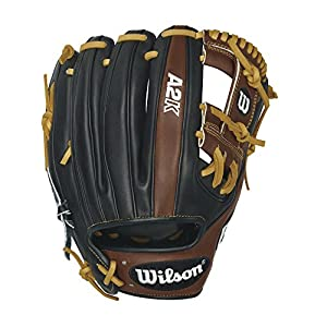 Wilson 2016 A2K 1786 Baseball Glove, Walnut/Black/Blonde