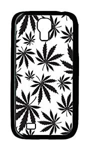 Samsung S4 Case,VUTTOO Cover With Photo: White Chronic For Samsung Galaxy S4 I9500 - PC Black Hard Case