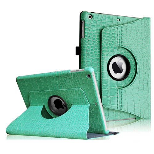 Fintie 360 Degree Rotating Stand Leather Case Cover for iPad Air