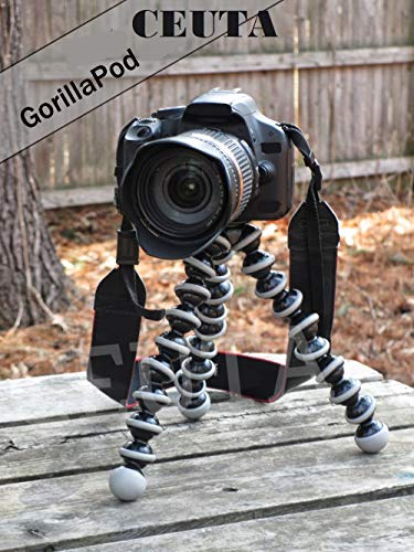 CEUTA® Gorilla Tripod (13 Inch Height) for Camera, DSLR and Smartphones with Universal Mobile Attachment- Gorillapod for Photography,Youtuber's,Videography,Shooting Films.
