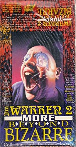 JIM WARREN 2 MORE BEYOND BIZARRE 1994 COMIC IMAGES TRADING CARD BOX 48 PACKS (Comic Images Trading Card Box)