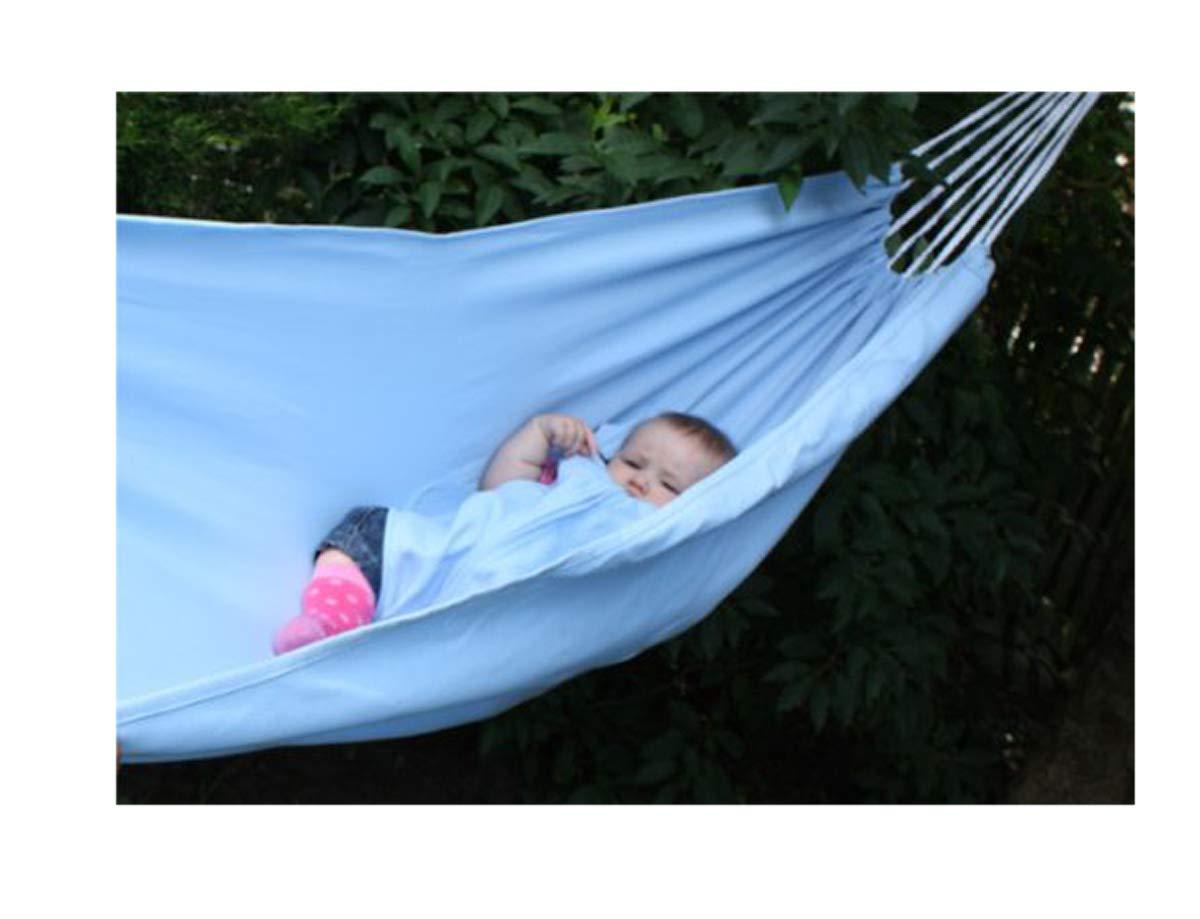 2,30 m Colore: Blu Amaca per Bambini con pagliacco Exporsal