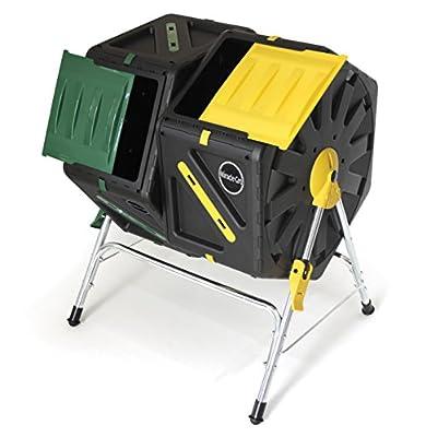 Miracle Gro DC270MG Dual Chamber Tumbling Composter