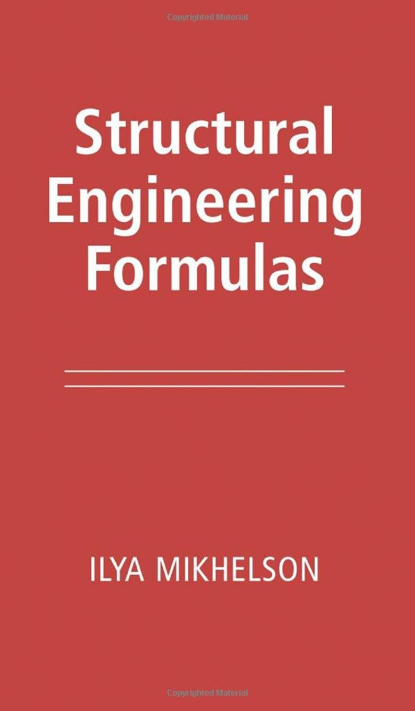 Structural Engineering Formulas PDF