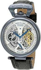 Stuhrling Original Men's 127A2.33X52 Analog Display Automatic Self Wind Black Watch