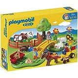 Playmobil 1.2.3 Countryside Building Set