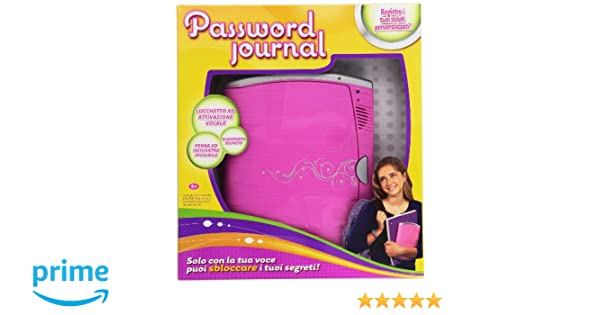 Amazon.es: Mattel Radica BCF87 Password Journal 8 - Diario con ...