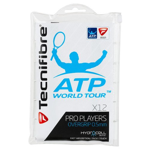 Tecnifibre ATP Pro Players Overgrip 12 Pack White ()