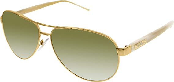 Ralph By Ralph Lauren RL-RA4004 - 101/13 Gold and Cream with Brown Gradient Lenses Womens Sunglasses