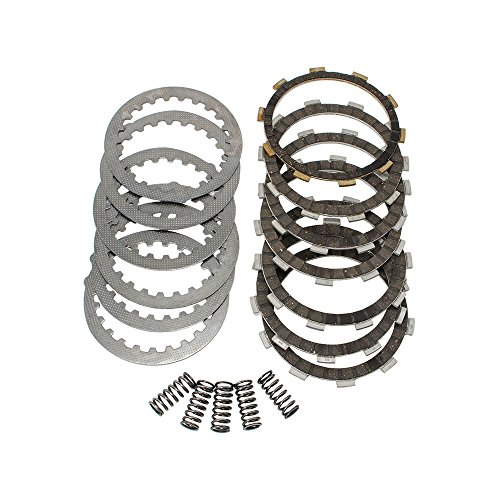 Clutch Repair Kit with Heavy Duty Springs Friction Steel Plates for Honda TRX 300EX 1993-2008 - Steel Clutch Plate