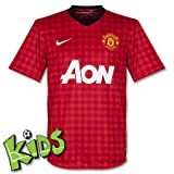 Nike Manchester United Home 2012-13 YOUTH Soccer Jersey