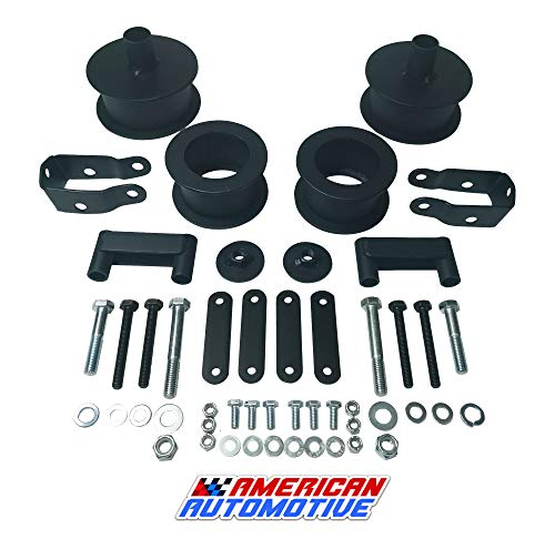 "American Automotive Wrangler JK Full Lift Kit 2.5"" Front +"