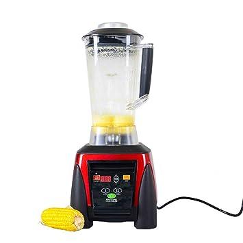 Licuadoras 2200W Batidoras 2L Alta Velocidad Blender Mufti-Función Licuadora De Hielo Para Restaurante Casero Leche Batidos Alimentos Fruta Roja: Amazon.es: ...