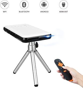 OTHA Mini Vídeo Proyector, DLP Proyectores Portátiles LED WiFi ...