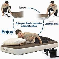 Amazon.com: TIANYA - Bomba de aire para colchón hinchable ...