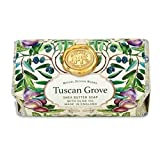 Michel Design Works Oversized Triple Milled Bath Soap Bar, Tuscan Grove