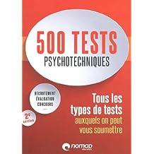 500 tests pychotechniques 2e édition