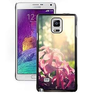 Beautiful Custom Designed Samsung Galaxy Note 4 N910A N910T N910P N910V N910R4 Phone Case For Pink Buds Phone Case Cover