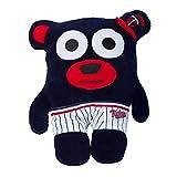 Fabrique Innovations MLB Minnesota Twins Bear In Underwear Plush Toy, Navy, Small