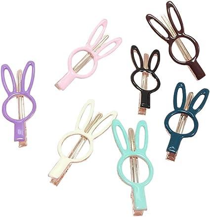 Fashion Simple Alloy Hollow Hair Clip Mini Hair Claw Personality Hair Accessory