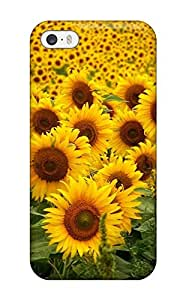 Best Iphone 5/5s Case Cover Skin : Premium High Quality Sunflowers Case 6287528K18331387