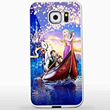 Disney Princess Tangled Rapunzel and Flynn for Samsung S6 White case