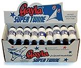 Gayla Industries Super Twine Kite String 200 Feet Multi-Packs/Class Sets (Set of 72 spools)