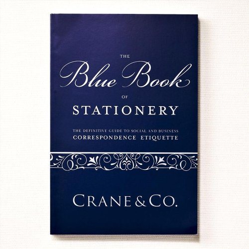 Crane & Co. Blue Book of Stationery (CA9000A) by Crane & Co.