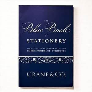 Crane & Co. Blue Book of Stationery (CA9000A)