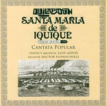 quilapayun cantata santa maria de iquique