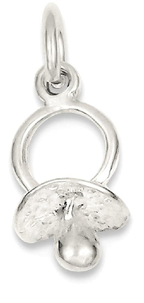 Amazon.com: Icecarats Plata De Ley 925 Chupete collar ...