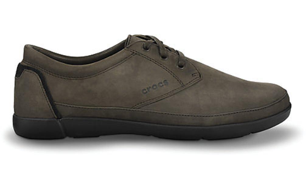 Crocs Ellicott Lace Brown / Black M7 40.5 MAN