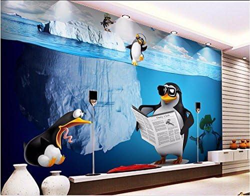 Chan-Mei Mural Personalizado 3D Photo Wallpaper Icebergs Oceánicos ...