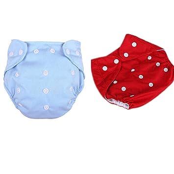 Säugling Einstellbar Waschbar Baby-Windel Tuch Windeln Abdeckung