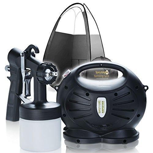 Rapidtan HVLP Spray Tanning Kit Spray Tan Machine T650 with Tent