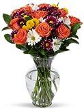 Benchmark Bouquets Life is Good Flowers Orange