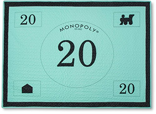 - Junk Food Monopoly Money Bed Blanket (50
