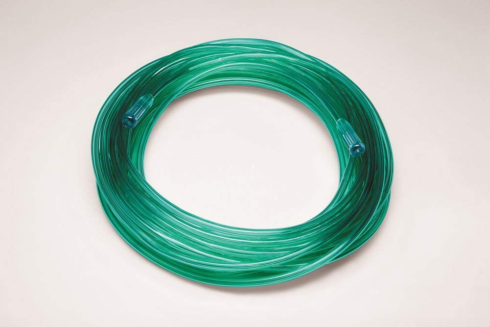 50 ft Oxygen Tubing, Green, 3 Channel, 2050G-50