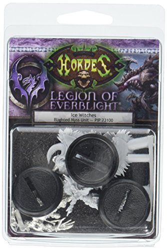 Privateer Press Ice Witches: Legion of Everblight Unit (3) (Resin/Metal) Miniature Game Figure ()