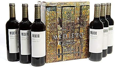 Vino Tinto Rioja Medievo Crianza | 6 Botellas