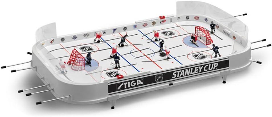 NHL Stanley Cupロッドホッケーテーブルゲーム – Boston Bruins & Chicago 黒hawks